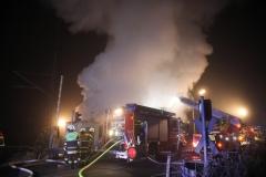 Brand, Feuer, Vollbrand Haus in Eschenlohe, 26.11.2020 Foto: Dominik Bartl